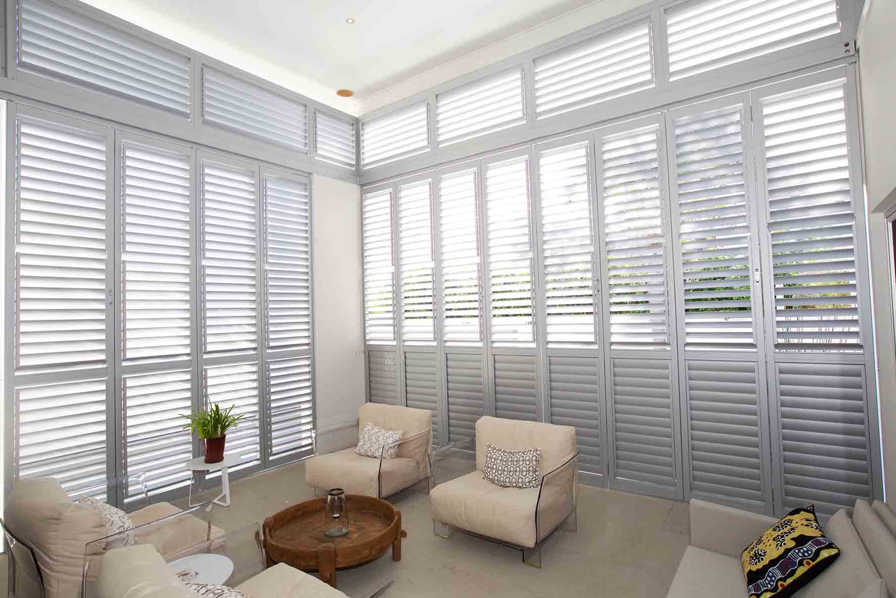 Aluminium Plantation Shutters Brisbane